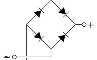 Что такое диодный мост, принцип его работы и схема подключения