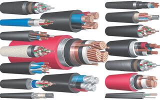 Какие провода бывают – все разновидности кабелей и проводов