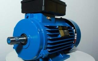Как подключить однофазный электродвигатель – схема с конденсатором