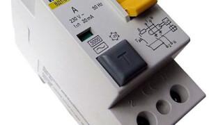 Схема подключения УЗО и автоматов в щитке