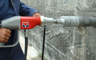 Основные виды коронок для сверления бетона