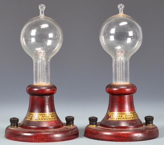 Кто изобрёл первую электрическую лампу