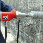 Как выбрать коронку по бетону для подрозетников?