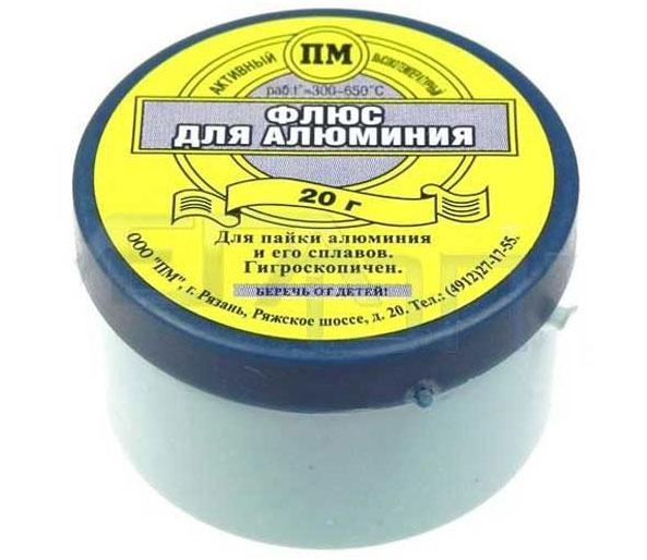 Трубчатый порошковый припой для пайки алюминия