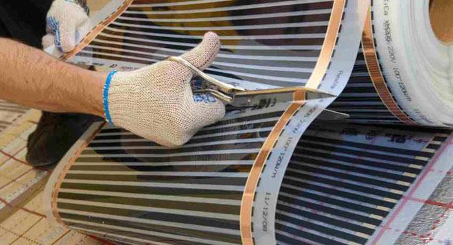 Что такое инфракрасный плёночный теплый пол?