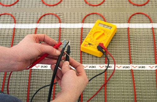 Как подключить теплый пол к электричеству - схема подключения