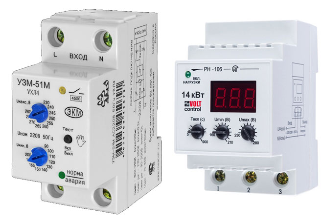 Способы защиты электрической сети квартиры или дома от скачков напряжения