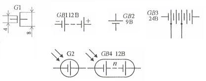 Как условно обозначаются элементы на электрических схемах?