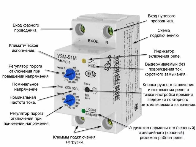 Что такое УЗМ 51М в электрике - характеристики, схема подключения