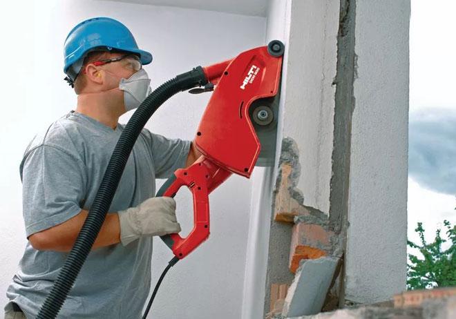 Как штробить стены под проводку - требования, подбор инструмента, технология штробления