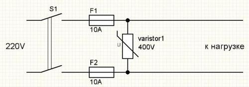 Что такое варистор, основные технические параметры, для чего используется
