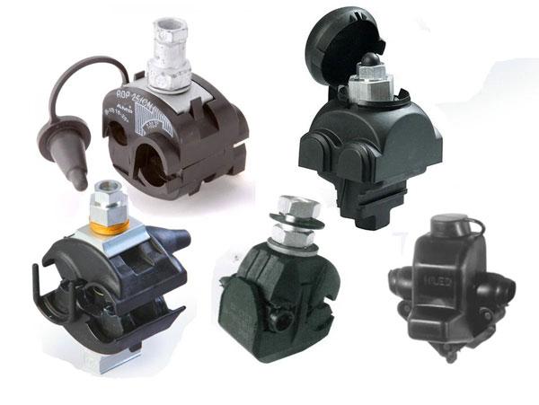 Способы соединения провода СИП с разными кабелями