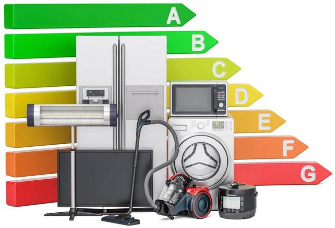 7 классов энергоэффективности бытовой техники.