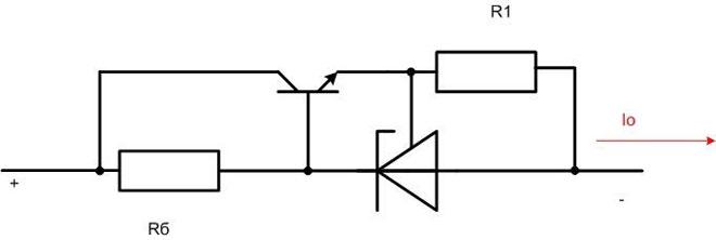 Ограничитель тока на TL431.